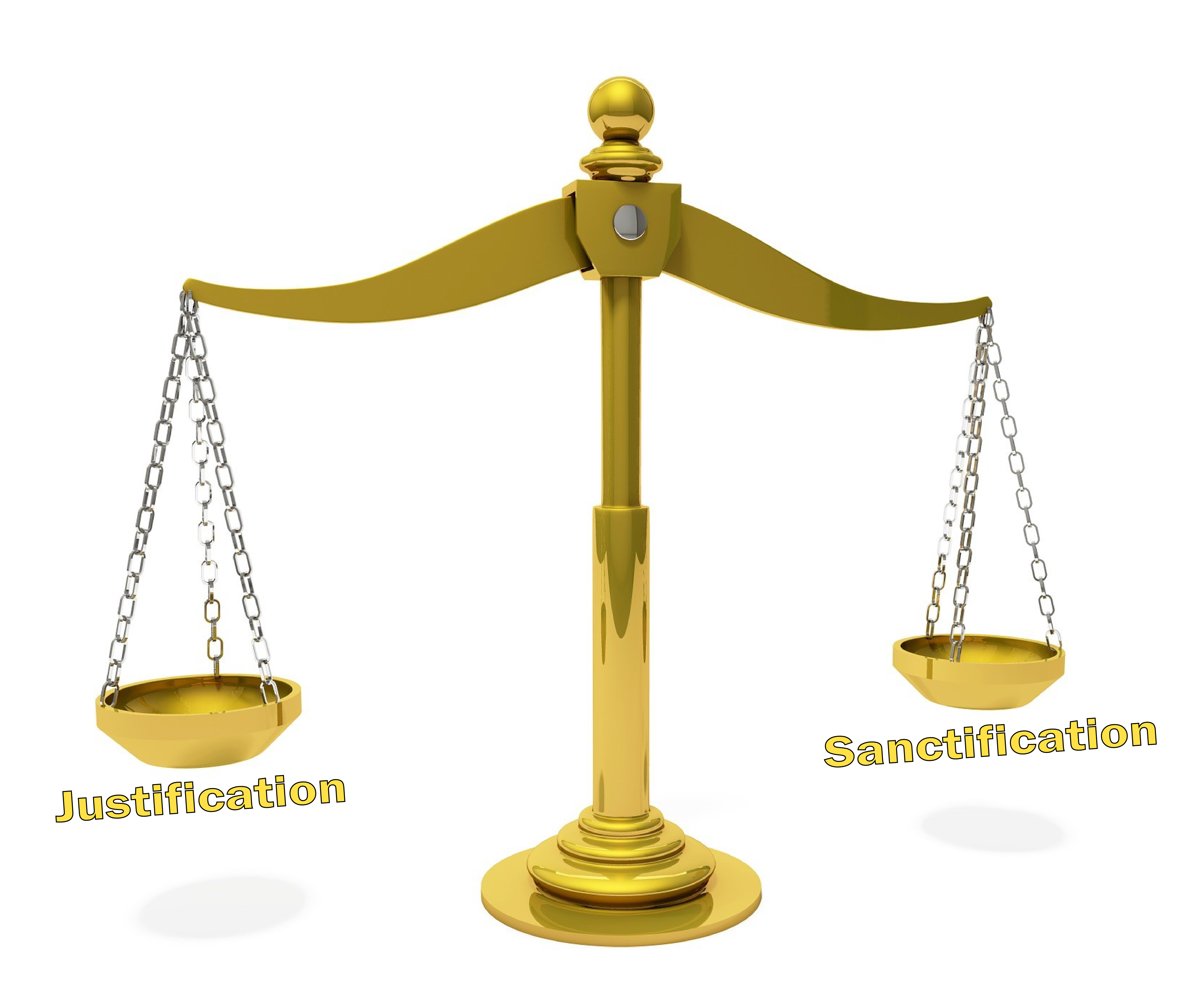 Justification vs Sanctification